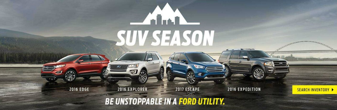 2016 Ford Edge 2016 Ford Explorer 2017 Ford Escape 2016 Ford Expedition
