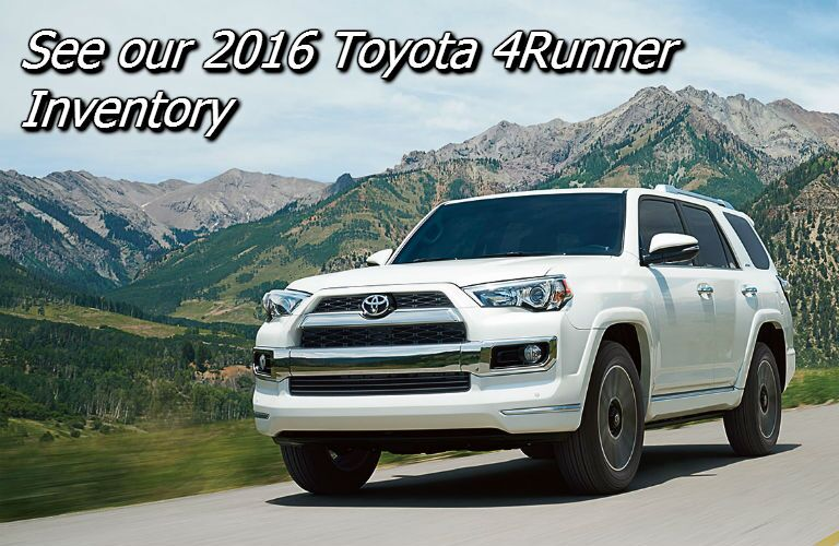 deals on the 2016 toyota 4runner in knoxville tn