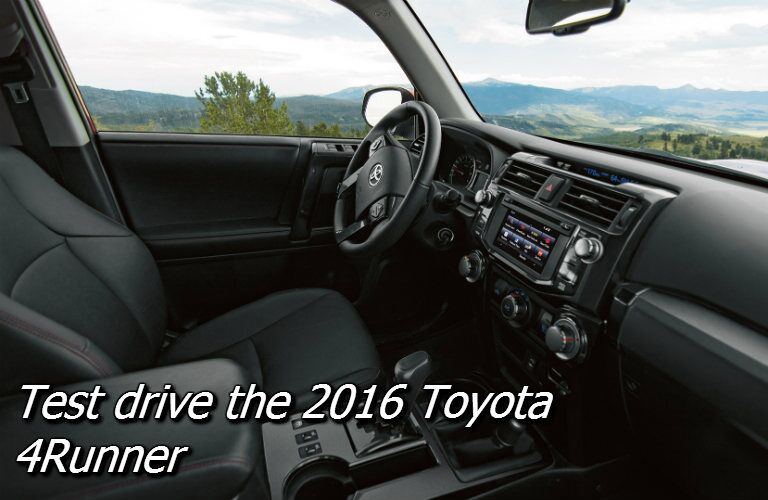 where can i test drive a toyota 4runner in knoxville?