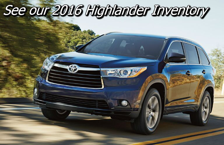 where can i find the 2016 toyota highlander in knoxville tn