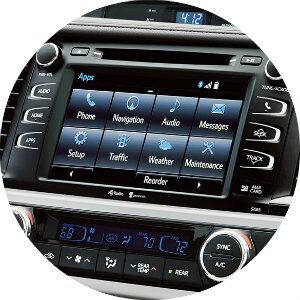 what tech features come in the toyota highlander?