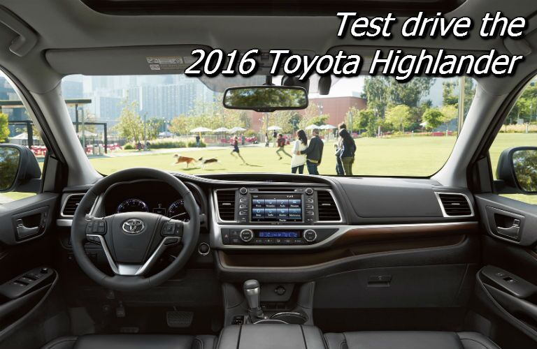where can i test drive the toyota highlander in knoxville tn