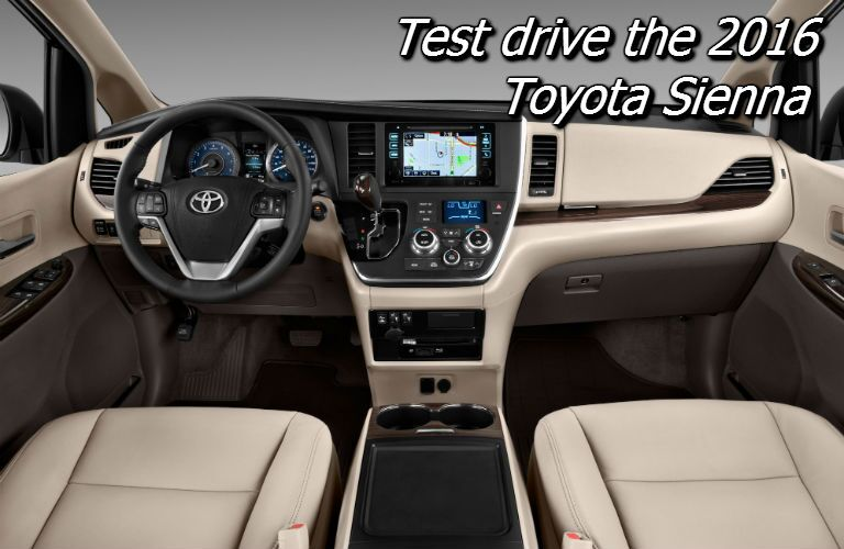 where to test drive the 2016 toyota sienna in knoxville