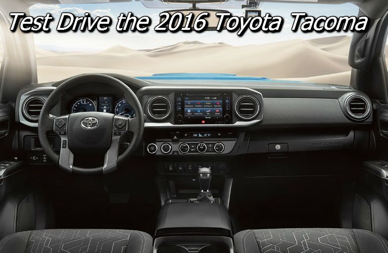where can i test drive the 2016 toyota tacoma in knoxville?