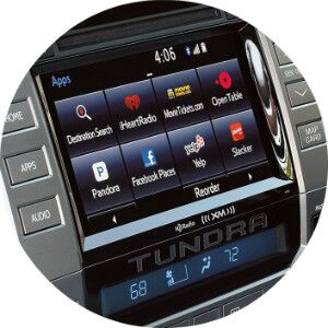 is there a premium audio feature in the toyota tundra?
