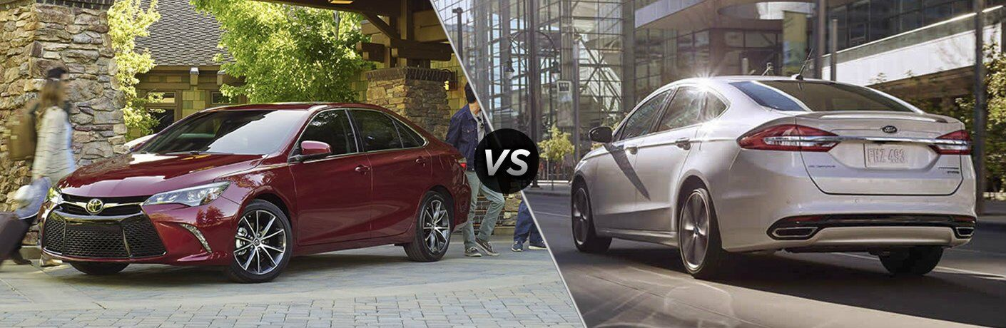 2017 Toyota Camry vs. 2017 Ford Fusion