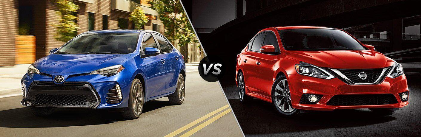 2017 Toyota Corolla vs. 2017 Nissan Sentra