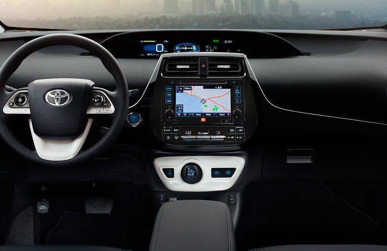 2017 Toyota Prius dashboard overview