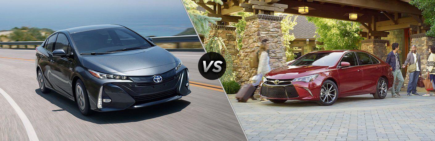2017 Toyota Prius vs 2017 Toyota Camry Hybrid