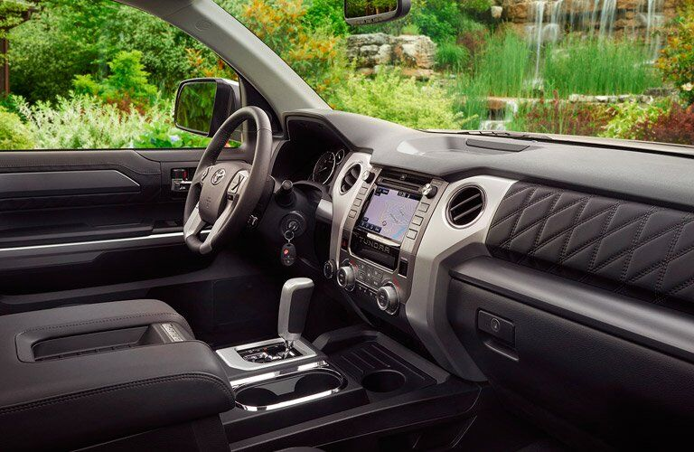 2017 Toyota Tundra interior space