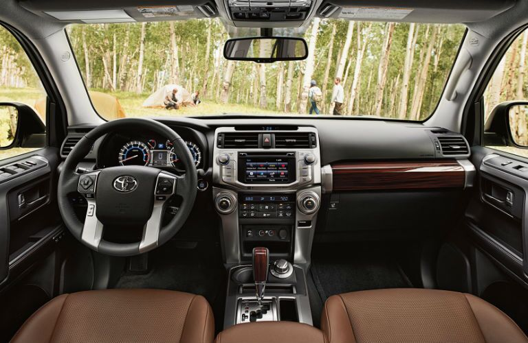 Toyota 4Runner Leather Interior