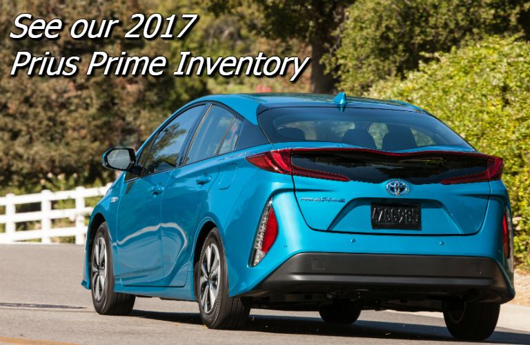 savings on the 2017 toyota prius prime in knoxville tn