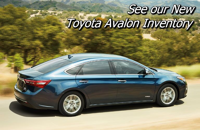 new toyota avalon inventory near knoxville tn