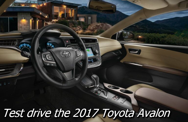 test drive the 2017 toyota avalon in knoxville tn