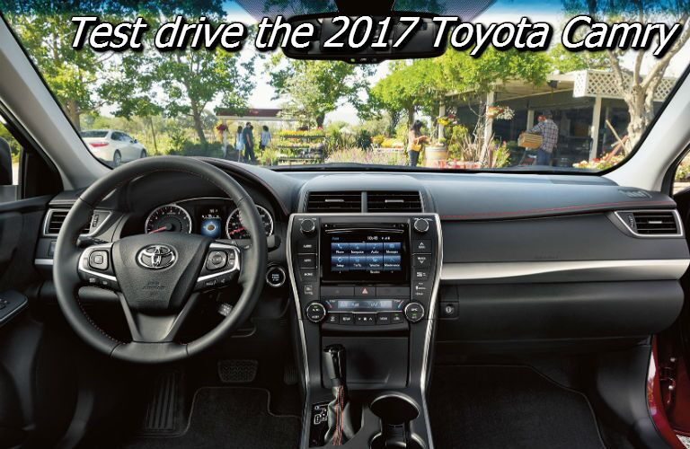 test drive the new camry in knoxville tn