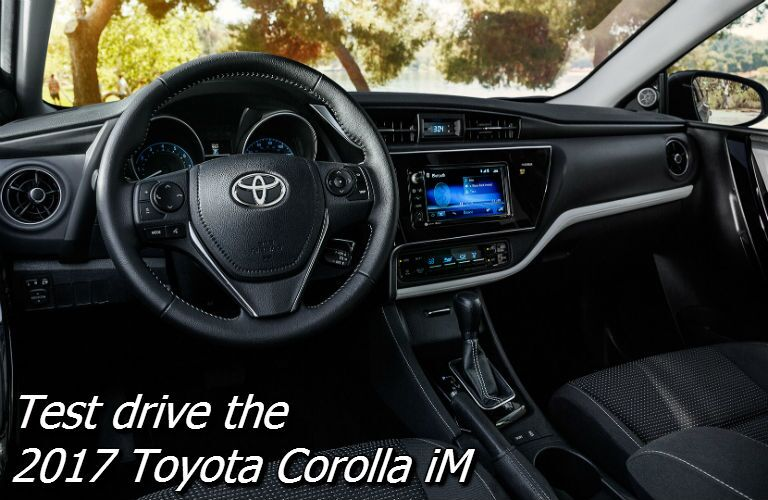 where can i test drive the toyota corolla iM near knoxville?