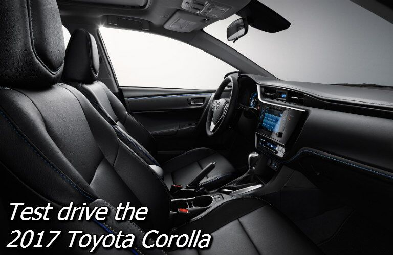 where can i test drive the 2017 toyota corolla in knoxville?