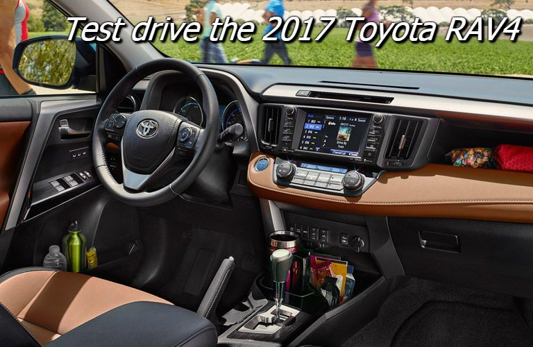 test drive the 2017 toyota rav4 in knoxville tn