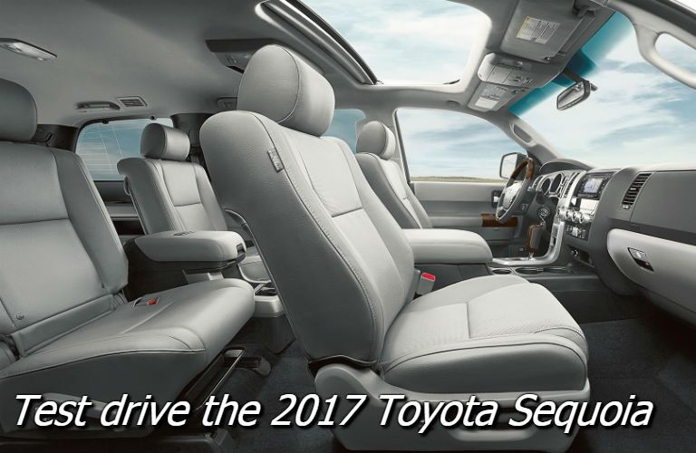 test drive the 2017 toyota sequoia near knoxville tn