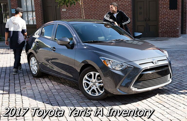 new 2017 toyota yaris iA for sale in knoxville tn