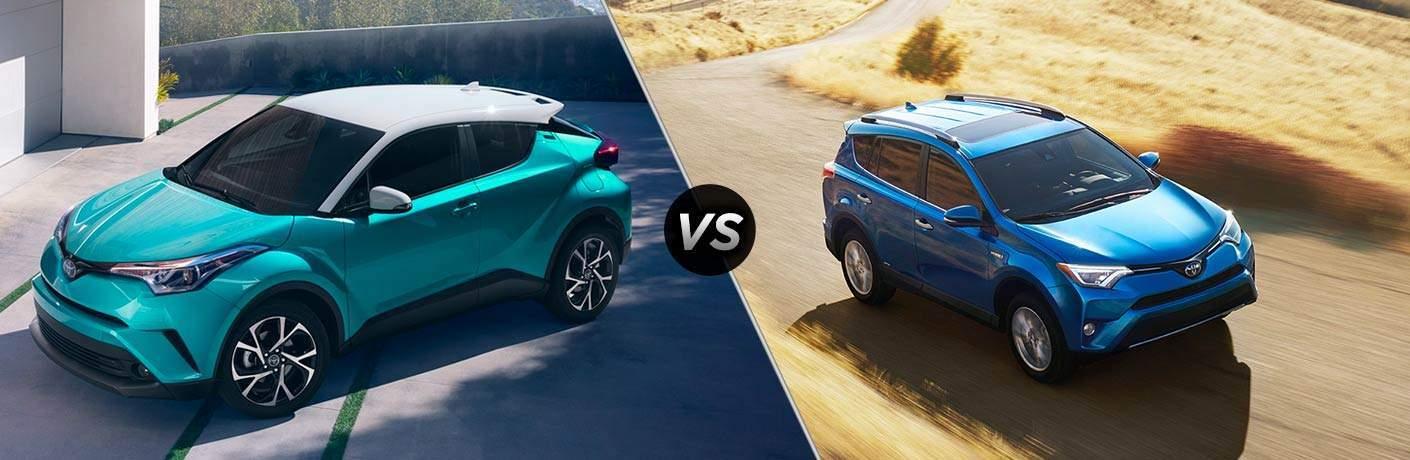 2018 Toyota C-HR vs 2018 Toyota RAV4