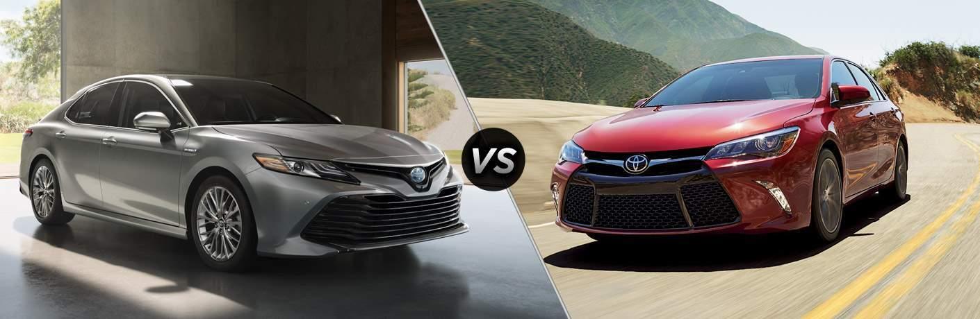 2018 Toyota Camry vs 2017 Toyota Camry