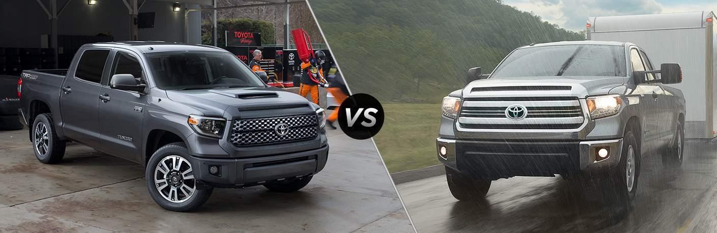 2018 Toyota Tundra vs 2017 Toyota Tundra