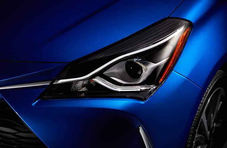 2018 Toyota Yaris front headlight