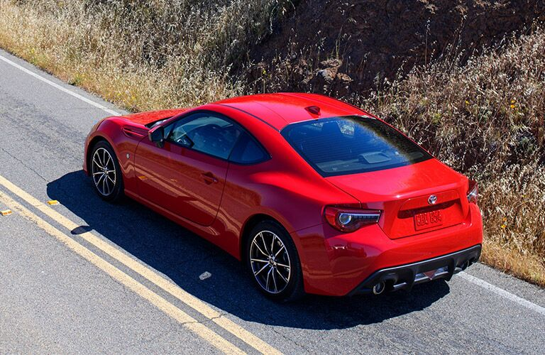 2019 Toyota 86 exterior in red