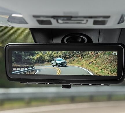 Digital rearview mirror