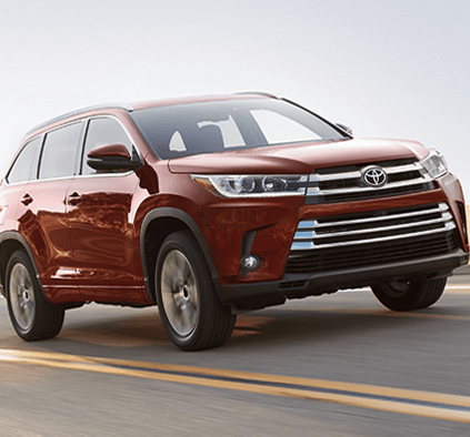 2019 Toyota Highlander available All-Wheel Drive