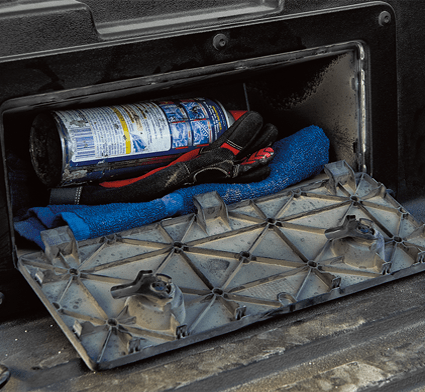 2019 Toyota Tacoma In-bed storage