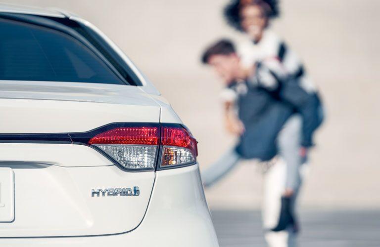 2020 Toyota Corolla Hybrid rear badging