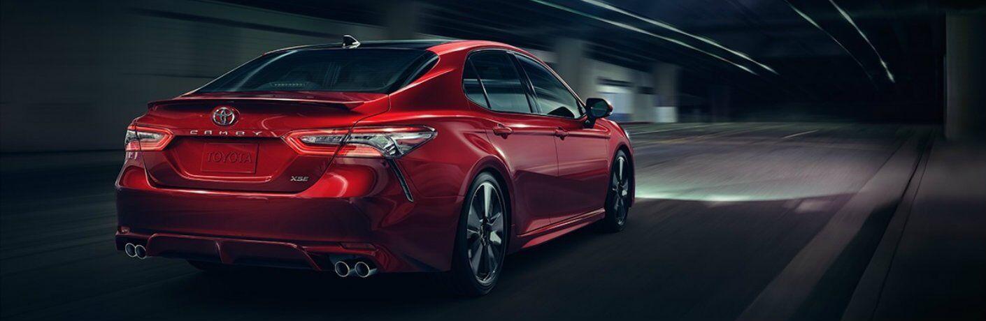 2018 Toyota Camry new powertrain options