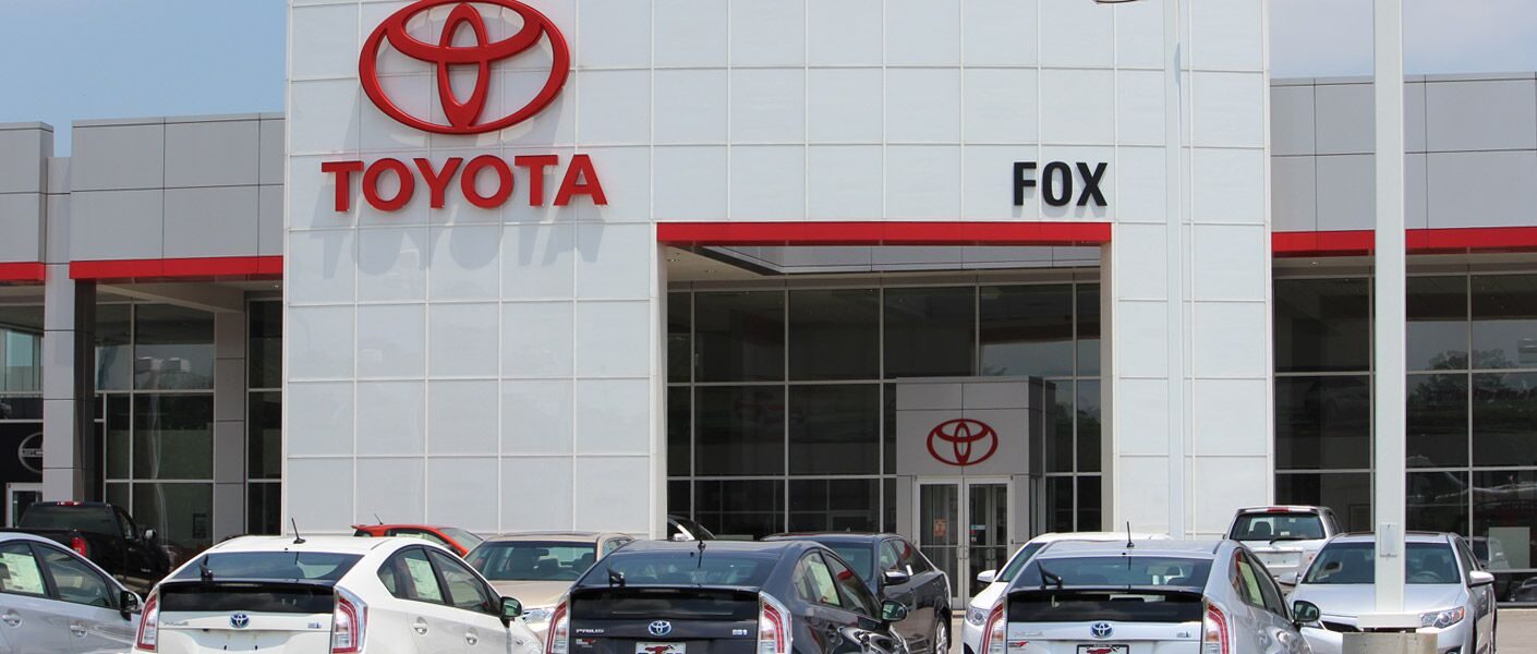 New Toyota at Fox Toyota