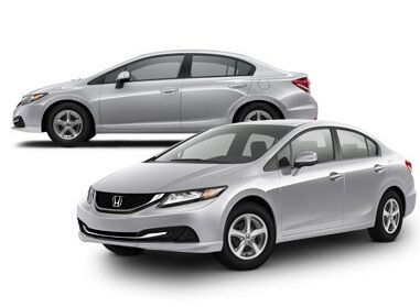 A: The 2012 Honda Civic Has A 8.3 Gallon Equivalent Tank And Is Filled In  Less Than 5 Minutes When Using A Commercial System Such As Kwik Tripu0027s.