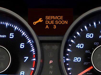 Honda service codes a123