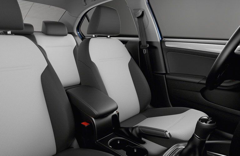 2017 Volkswagen Jetta Two-Tone Base Trim Seating