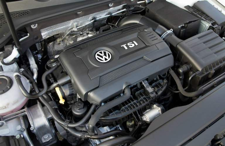 TSi engine 2018 VW Golf Alltrack