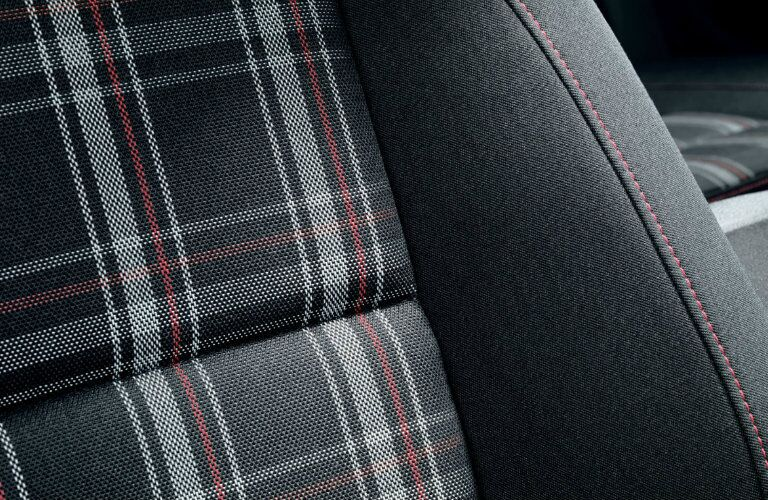 2017 Volkswagen Golf GTI Clark Plaid Cloth Seating