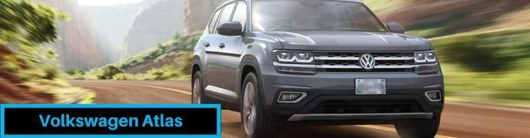 2018 Volkswagen Atlas Driving Through Countryside Banner