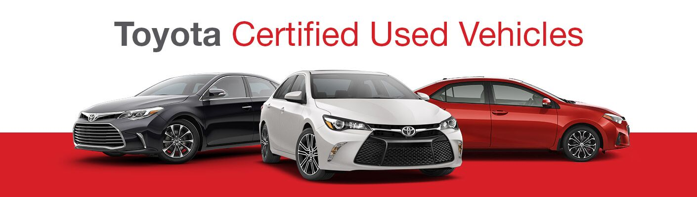 Toyota Certified Vehicles - near Epping NH