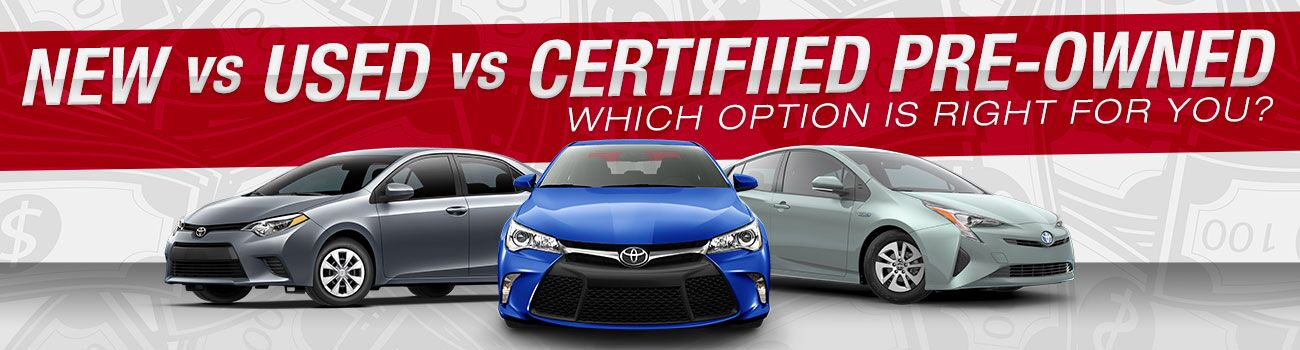 Hurlbert Toyota new vs used vs certified pre owned Epping NH