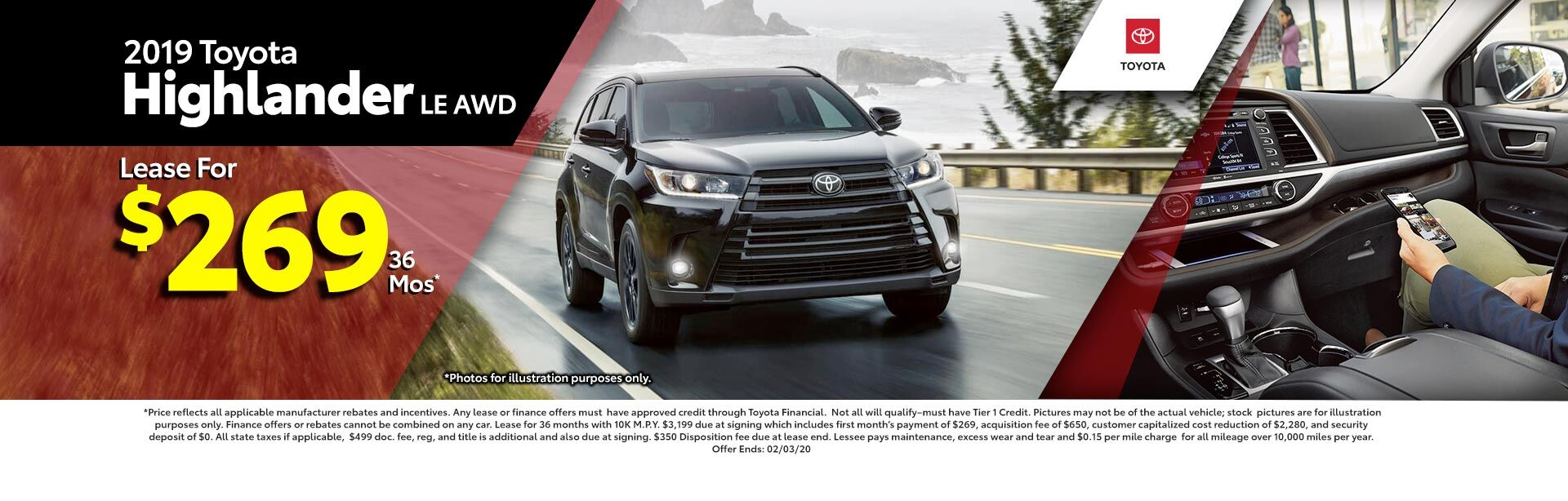 2019 Toyota Highlander LE V6 at McGee Toyota of Epping