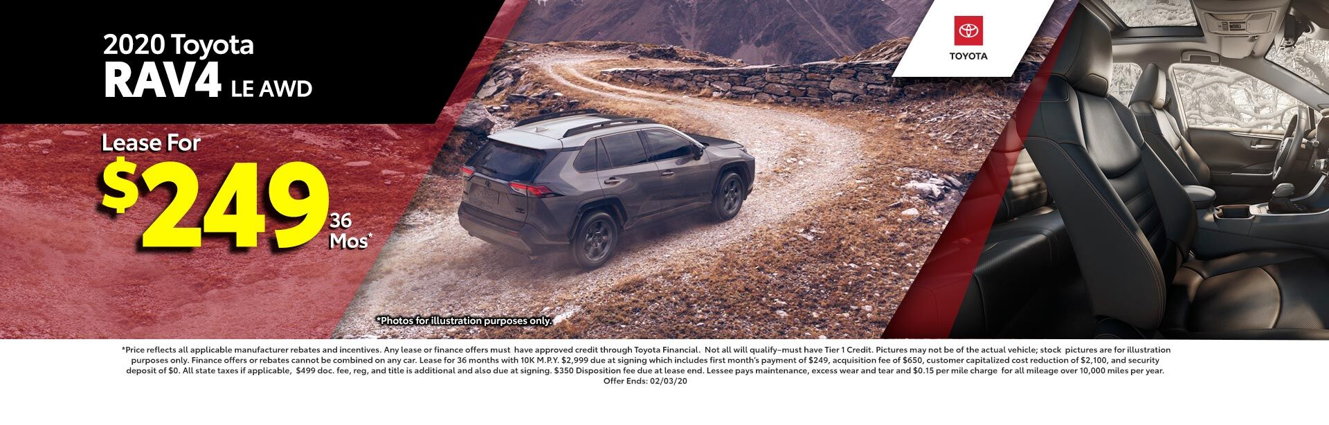 2019 Toyota RAV4 LE AWD at McGee Toyota of Epping