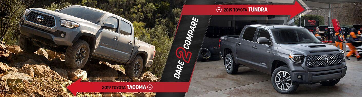 2019 Toyota Tacoma vs. 2019 Toyota Tundra | Epping, NH