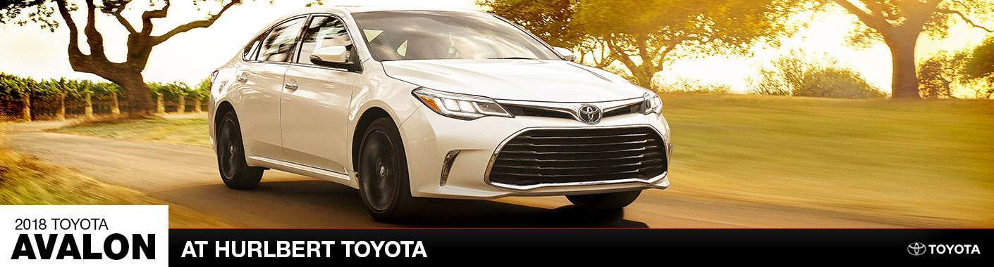 The 2018 Toyota Avalon in Epping, NH