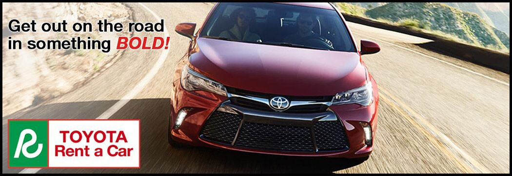 Rentals from Hurlbert Toyota