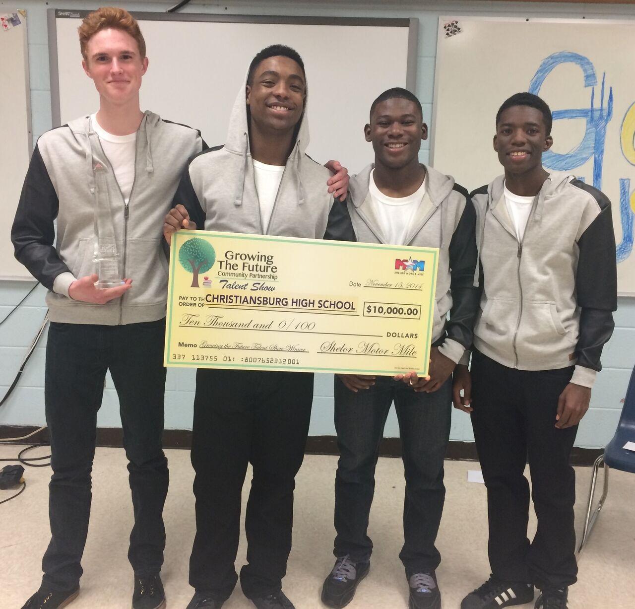 Christiansburg High School's Acapella Group, 2nd Place Winner