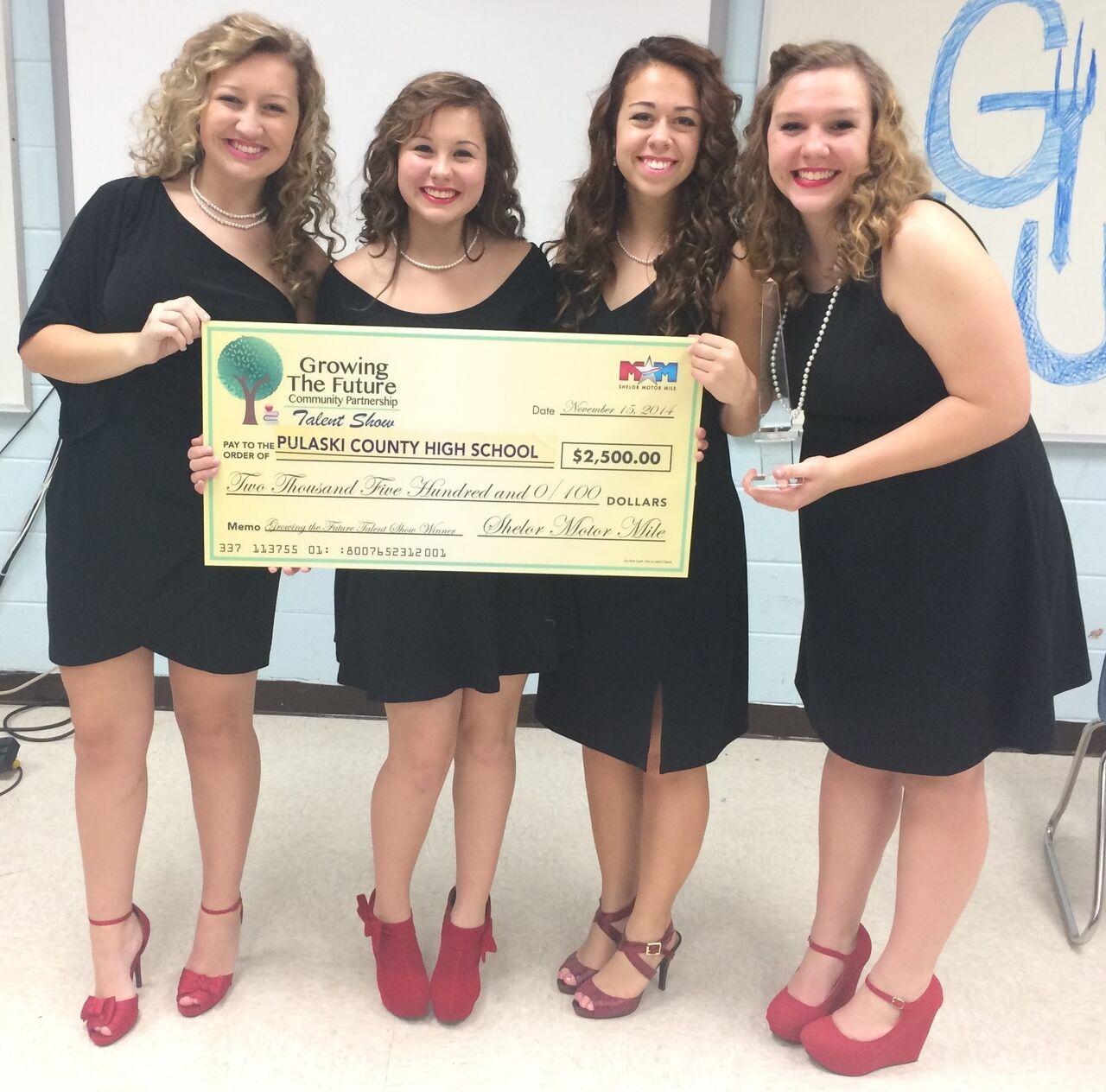 Pulaski County High School's Acapella Group, 4th Place Winner